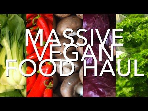Massive vegan food haul | Oslo