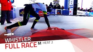 Whistler | BMW IBSF World Cup 2015/2016 - Men's Skeleton Heat 2 | IBSF Official