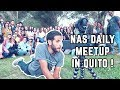 MEETING ECUADORIANS, NAS DAILY BEHIND THE SCENES, GETTING KIDNAPPED BY LOCAL GIRLS - QUITO DAY 1🇪🇨