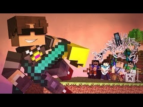 New World - A Minecraft Parody of Coldplays Paradise Music Video