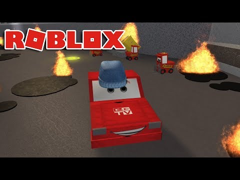 Thumbnail: SAVE LIGHTNING MCQUEEN!! | Cars 3 Roblox Obby