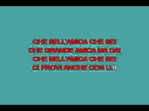 Bell'amica [karaoke]