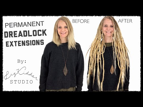 DREADLOCK EXTENSIONS || Before & After || Client Story