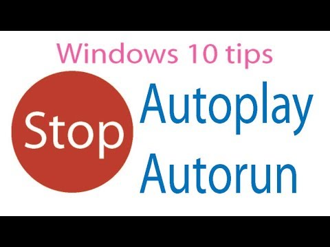 stop auto-run at windows 10/stop auto-play at your PC