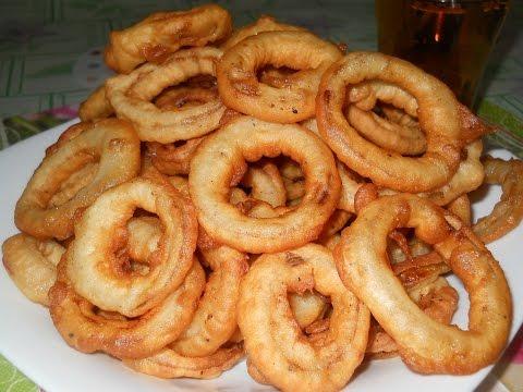 Луковые кольца Рецепты луковых колец Как приготовить