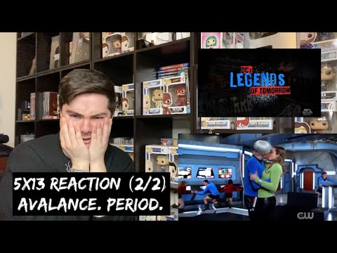 LEGENDS OF TOMORROW - 5x13 'THE ONE WHERE WE'RE TRAPPED ON TV' REACTION (2/2)