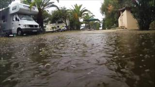 Navarino Camping: It's raining
