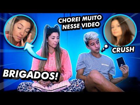 ELE REVELOU TODA A VERDADE SOBRE A BRIGA COM A CRUSH !! * Chorei Muito *