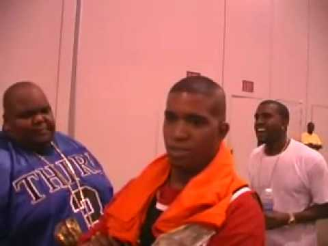 Kanye West shows Luv & Respect to Big Moe of the S.U.C. (RIP Bar Baby)
