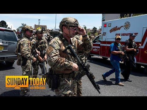 El Paso Walmart Shooting Leaves At Least 20 dead; Suspect In Custody | Sunday TODAY