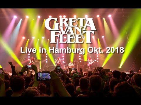 Greta van Fleet Live 2018 in Hamburg