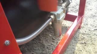 Kompresor sadowniczy 900l/min na wom piaskowanie 200l zbiornik