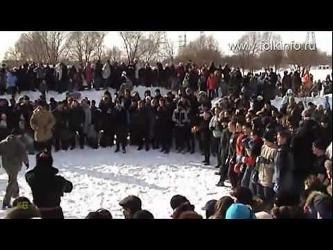 Стеношный бой. Масленица 2011. Петербург. Грунтовский