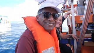 Seychelles president visits UK science mission