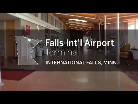 Falls International Airport Terminal