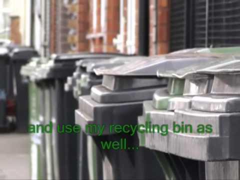 Recycle, reduce, reuse karaoke