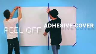 WRITEYBOARD Stickon Installation Video
