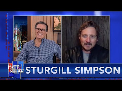 Sturgill Simpson Reflects On Meeting John Prine, And How He Honors His Mentor's Memory