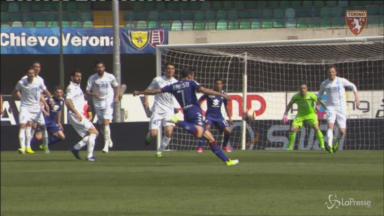 Chievo Torino 1 3 Sintesi Youtube