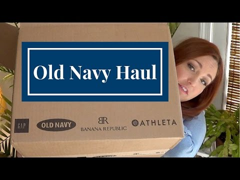 Old Navy Haul
