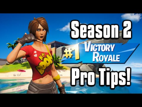 How To Win In Fortnite Season 2! - Battle Royale Tips & Tricks!