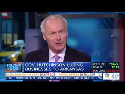 Arkansas Gov. Asa Hutchinson on CNBC