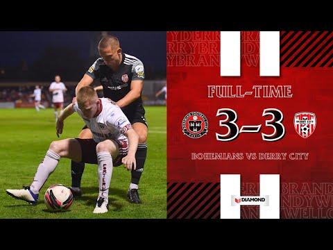 Bohemians D. Derry City Goals And Highlights
