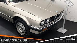 BMW 318i E30. Хорошее состоянии в автосалоне БМВ Германия(На нашем канале мы подробно рассказываем о немецком автомобильном рынке. Осмотры, тест-драйвы, покупка..., 2016-08-06T07:00:01.000Z)