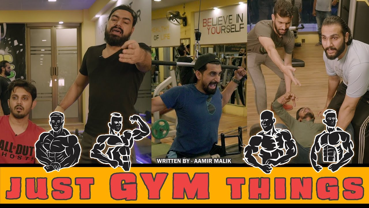 JUST GYM THING | Comedy Skit | Karachi Vynz Official