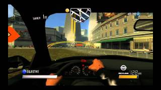 Driver San Francisco Short Race First Person Gameplay With Nissan Skyline