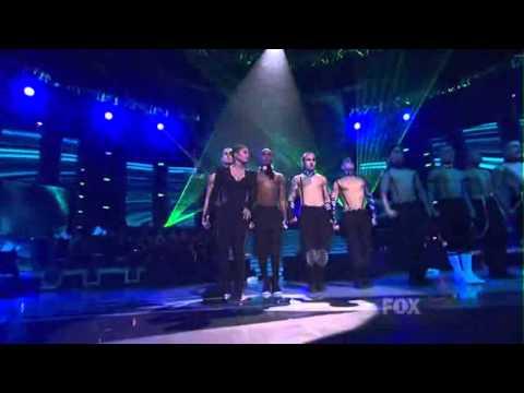 Janet Jackson performs nasty boys on American Idol