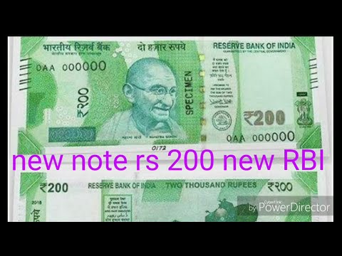 Rs 200 New Note Real Or RBI Naya Rs 200 Ka Note A Kitna Search Hey 💯%