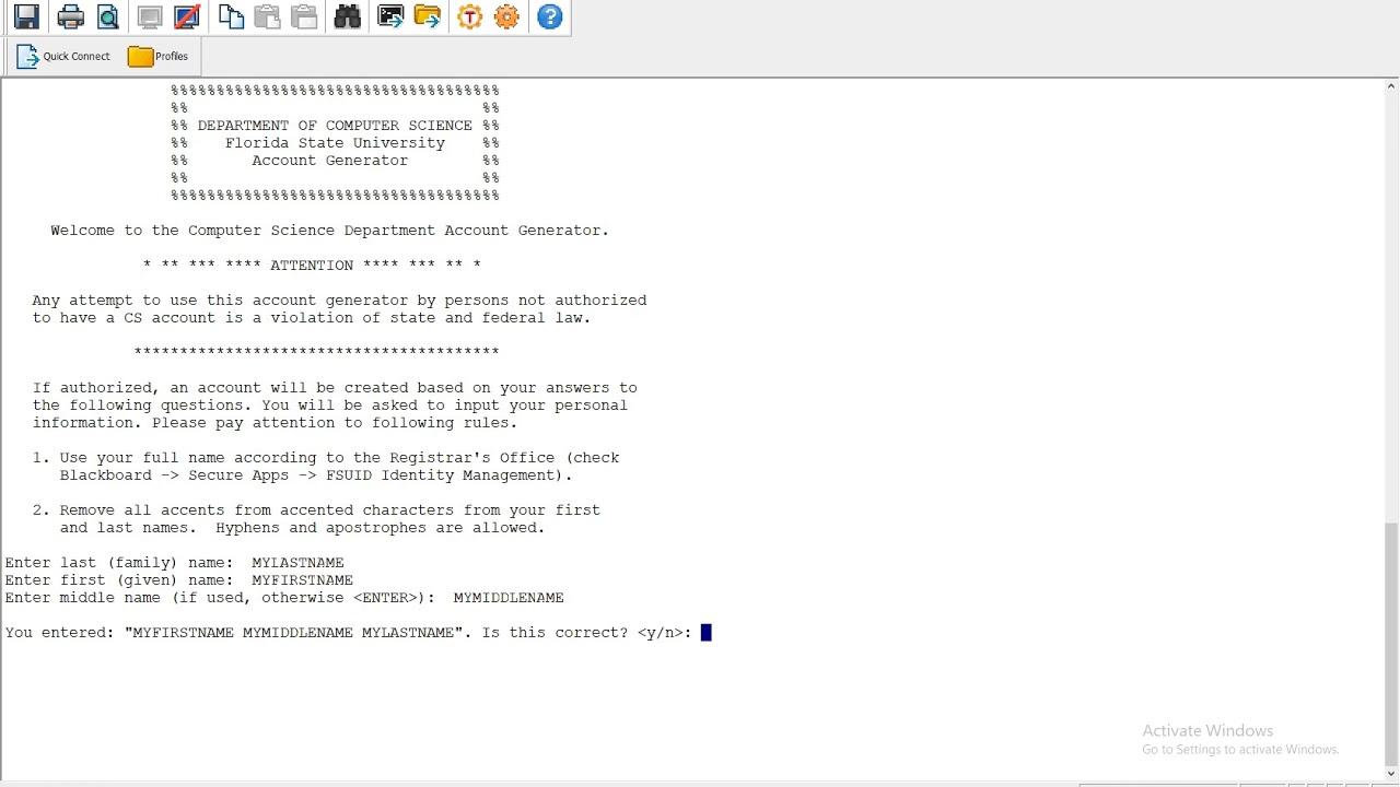 CS Account Setup | Systems Group