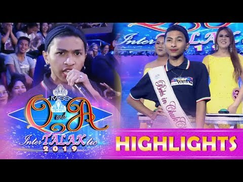 It's Showtime Miss Q and A: Gilbert wins Beks in Chukchak Award
