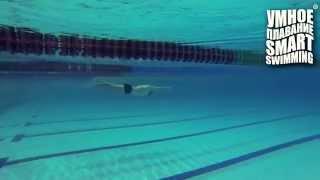 видео: Smart Swimming - скольжение с работой ног кролем
