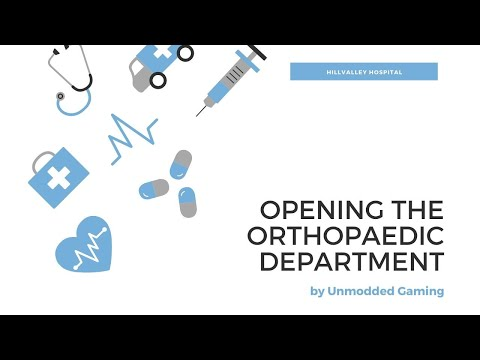 project hospital ep.6: setting up the orthopaedy dept|unmodded project hospital|hillvalley hospital |