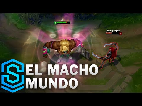 El Macho Mundo Skin Spotlight - League of Legends