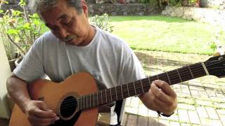 Uncle Larry Playing Slack Key - Malasadas