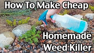 Cheap Homemade Weed Killer