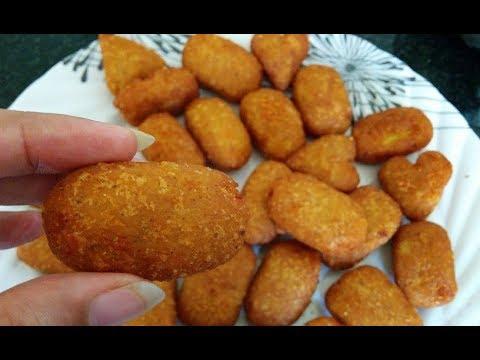 💕 5 मिनट में बनाये क्रिस्पी आलू स्नैक्स Aloo Pkoda Recipe  Aloo Cutlet  Aloo Snacks Recipe In Hindi