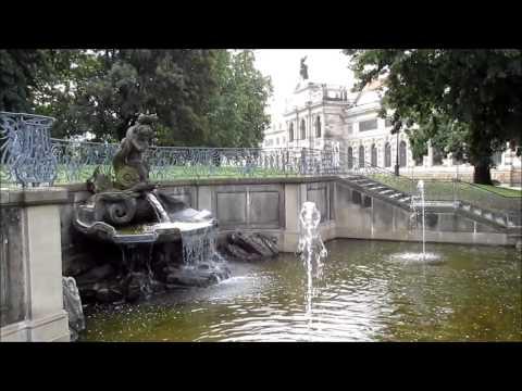 """""""Der Delphinbrunnen auf der Brühlschen Terrasse in Dresden""""- Ein Video von Wolfgang Schmökel"""