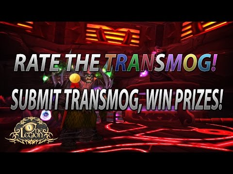 Rate The Transmog - Submit Your Transmogs For Others To See And Vote On!