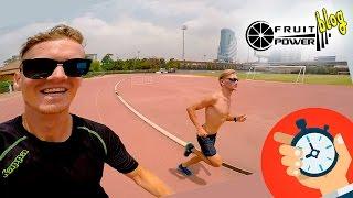 Скоростно-силовая беговая тренировка триатлета Ивана Власенко. Бангкок 2016