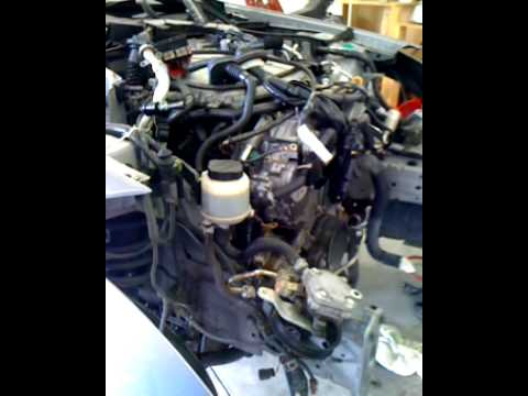 G35 engine removal YouTube – I Infiniti Vq35 Engine Diagram