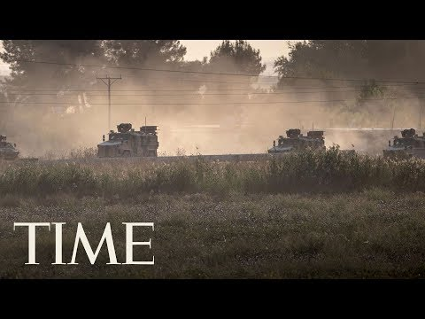 Turkey Military Launches Offensive Against Kurdish Fighters In Syria After U.S. Withdraws   TIME