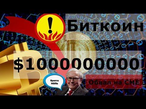 Биткоин $1000000000 Обвал на CME. Уоррен Баффетт: Криптовалюты ноль ценности