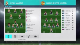 PES 2018 - Real Madrid - Best Formation & Tactics