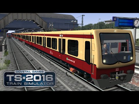 Stadtbahn Berlin 2.2.3 | Samstag Sonderzug quer durch Berlin | Train Simulator 2016