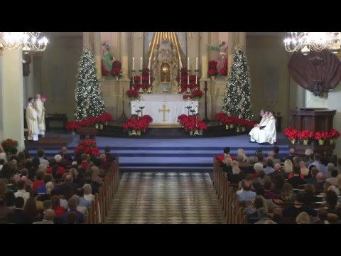 Midnight Mass at St. Louis Cathedral-Basilica