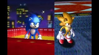 Movie Sonic in Sonic Adventure DX Download